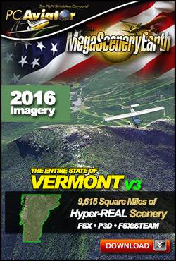 MegaSceneryEarth 3 - Vermont