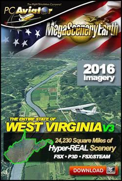 MegaSceneryEarth 3 - West Virginia