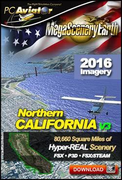 MegaSceneryEarth 3 - California V3 (Northern)