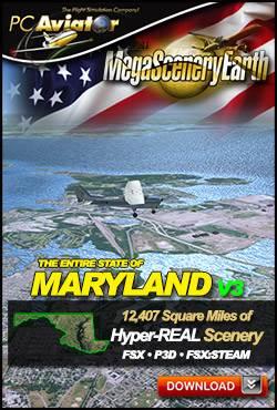 MegaSceneryEarth 3 - Maryland