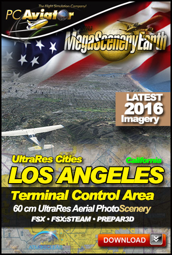 MegaSceneryEarth 3 - UltraRes Cities: Los Angeles