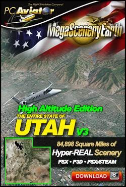 MegaSceneryEarth V3 - Utah High Altitude Edition