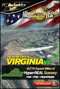MegaSceneryEarth 3 - Virginia