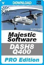 Majestic Software Dash 8 Q400 Pro Edition (FSX+P3Dv3)