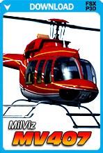 MilViz MV407 for FSX/FSX:SE/P3D