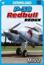 MilViz P-38 Redbull Redux
