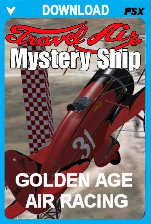 Travel Air Mystery Ship Package For FSX