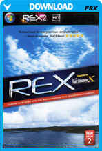 Real Environment Xtreme (REX) & Overdrive For FSX