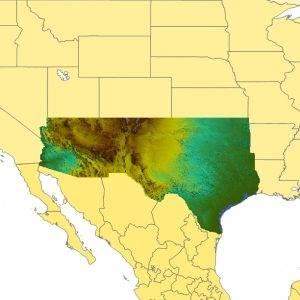 TopoSim - USA - Southwest Region