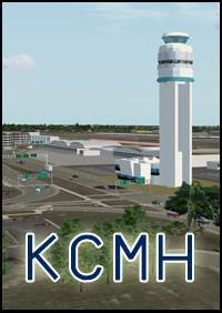 KCMH Port Columbus International Airport (KCMH) for FSX