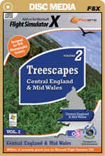 Treescapes Volume 2 - Central England & Mid Wales for FSX