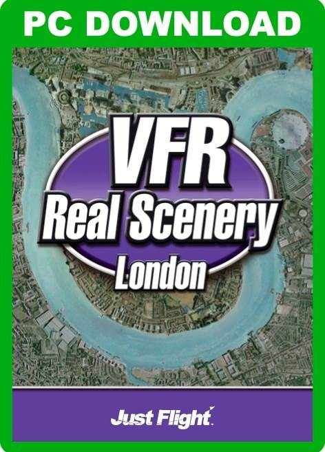 VFR Real Scenery - London