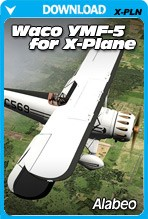 Waco YMF5 HD Bi-Plane (X-PLANE)