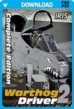 IRIS - Airforce Series - Warthog Driver II (TP/FSX/P3D)