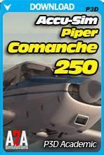 Accu-Sim Comanche 250 P3D Academic