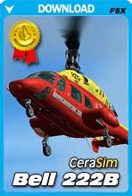Cera Sim Bell 222 B (FSX/P3D)