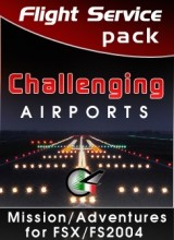 Flight Service - Challenging Airports Pack