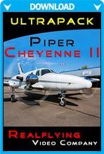 REALFLYING - Ultrapack Piper Cheyenne II