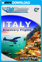 Discovery Flights – Italy (MSFS)