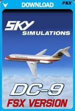 McDonnell Douglas DC-9 v2 For (FSX/FSX:SE)