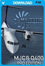 Majestic Software Dash 8 Q400 Pro Edition 64 Bit (P3D)