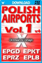 Polish Airports Vol 1 X for FSX/P3D