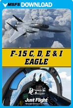 F-15 C, D, E & I Eagle (MSFS)