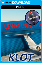 Lewis University Chicago Romeoville (KLOT) MSFS