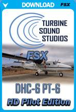 DHC-6 Twin Otter Pilot HD Sound Pack for FSX
