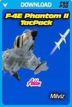 F-4E Phantom II TacPack Addon (FSX/P3D)