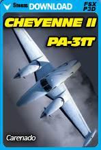 Carenado PA-31T Cheyenne II (FSX/P3D)