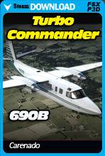 Carenado 690B Turbo Commander