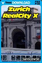SamScene - Zurich RealCity X for FSX and P3D