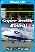 Super Traffic Board for Prepar3D