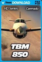 Carenado TBM850 HD Series
