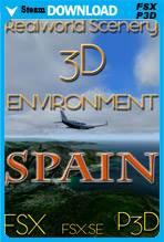 RealWorld Scenery - Spain 3D Environment 2017