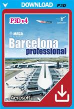 Mega Airport Barcelona professional