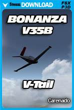 Carenado BONANZA V35B - V-TAIL (FSX/P3D)