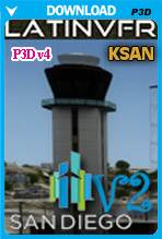 San Diego International Airport v2 (KSAN) - P3D v4