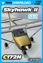 Carenado C172N Skyhawk II SKI (FSX/P3D)
