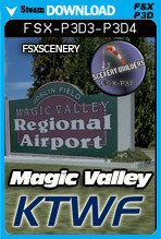 Magic Valley Regional Airport (KTWF)