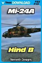 Mil Mi-24A Hind B (FSX/P3D)