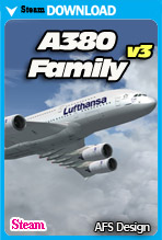 Airbus A380 - Family v3 (Steam)