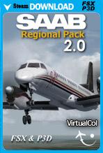 SAAB Regional Pack V2 (FSX/P3D)