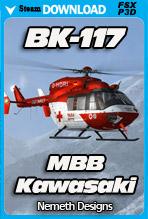 MBB/Kawasaki BK-117 (FSX/P3D)