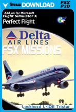 FSX Missions - Delta L-1011 Tristar