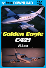 Alabeo C421 C Golden Eagle (FSX/P3D)