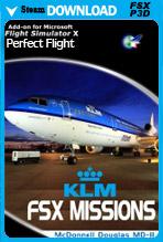 FSX Missions: KLM MD-11