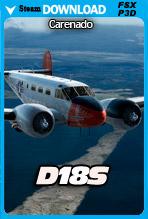 Carenado D18S (FSX/P3D)