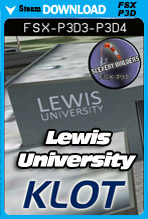 Lewis University Airport (KLOT)